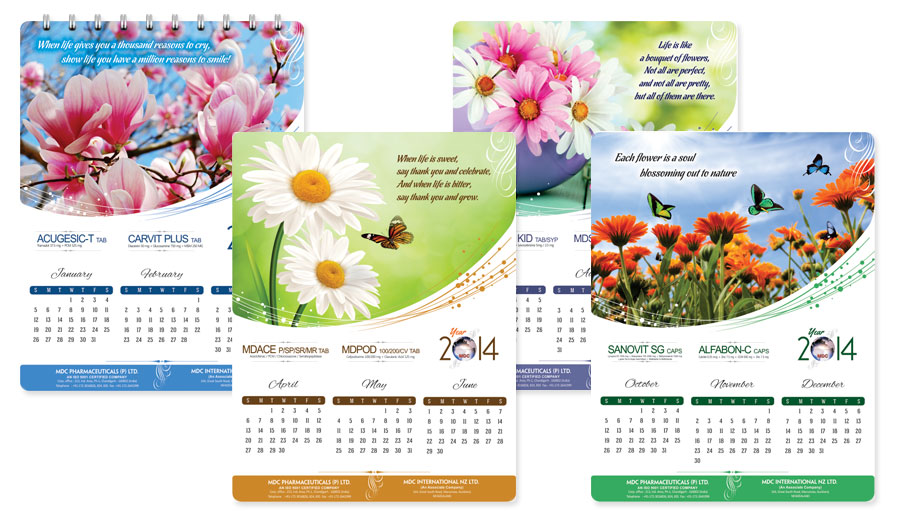 Calendar Ideas Photo : Melioration branding design creative conceptual