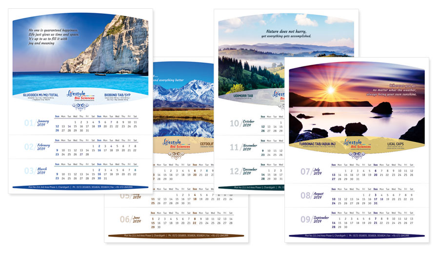 Calendar Ideas For Company : Light blue office decorating ideas design inspiration