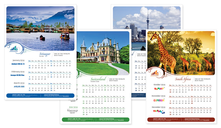 Creative Wall Calendar Designs Design Decoration